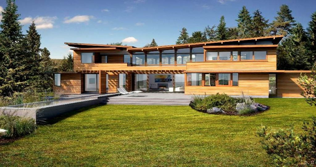 An eco-friendly wooden house will last for centuries