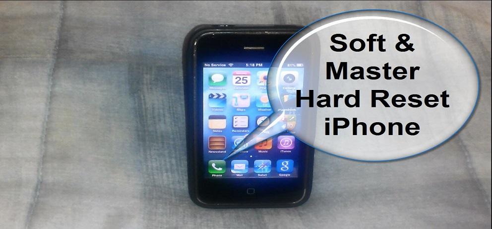 Diferente Intre Soft Reset Si Hard Reset Pe IPhone
