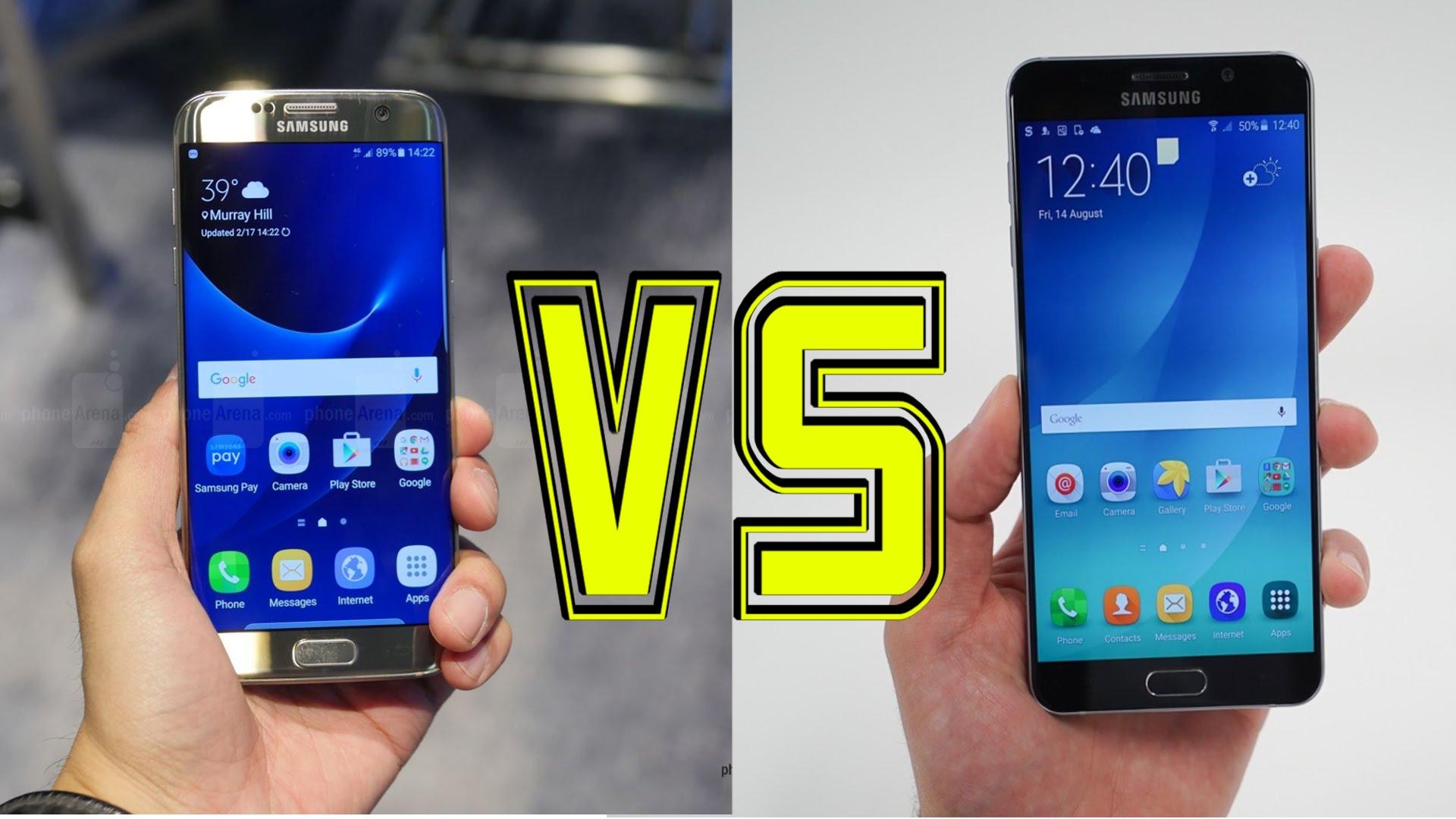 Galaxy Note 7 Vs Galaxy S7 – Care Sunt Diferentele?
