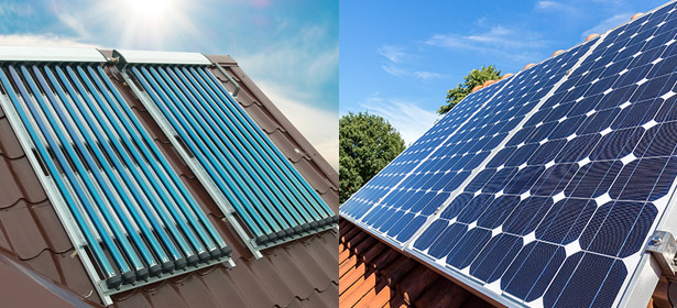 Solar Pv And Water Panels 468824